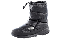 The North Face Men's Nuptse Bootie III shiny black/black